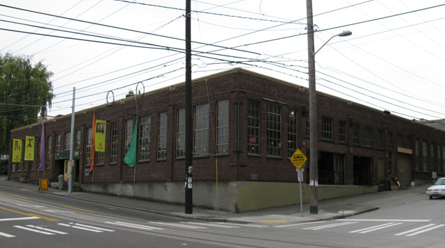 Boren investment company warehouse in south lake union for Furniture warehouse seattle