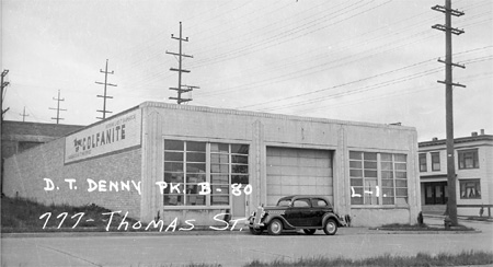 1937 photo of 777 Thomas St / Source: Washington State Archives, Puget Sound Branch