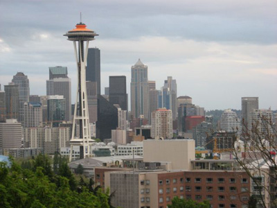 View of Seattle skyline from Kerry Park / Photo: Eugenia Woo