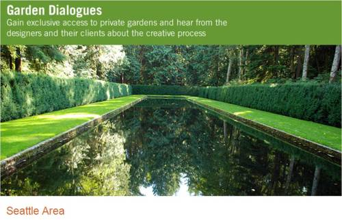 Bloedel Reserve Sequence of Gardens Reflection Pool, designed by Rich Haag / Photo: The Cultural Landscape Foundation