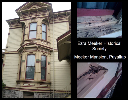 Meeker Mansion, Puyallup / Photos: Washington Trust for Historic Preservation and Ezra Meeker Historical Society