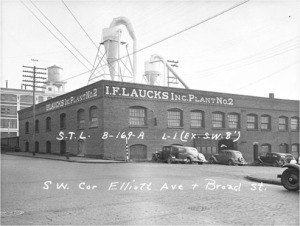 Ainsworth & Dunn Warehouse in 1937 / Source: Washington State Archives, Puget Sound Region Branch