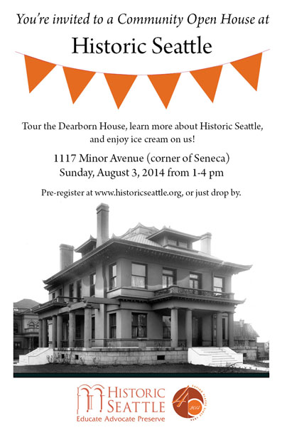 Historic Seattle Open House blog