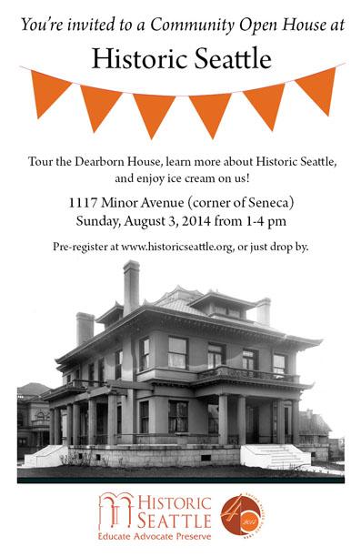Historic Seattle Open House blog
