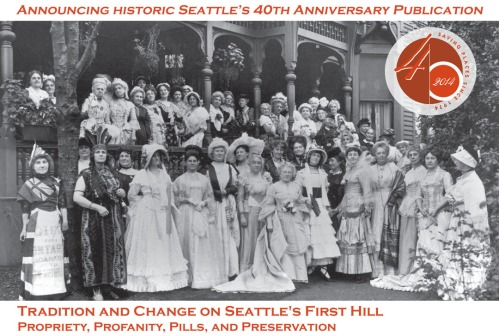 Costume ball at home of Emily Carkeek / Source: University of Washington Libraries Special Collections